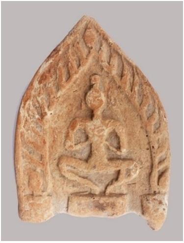 Figure 14  Diềm ngói ở di tích Gò Trăm Quỳ (Long An)